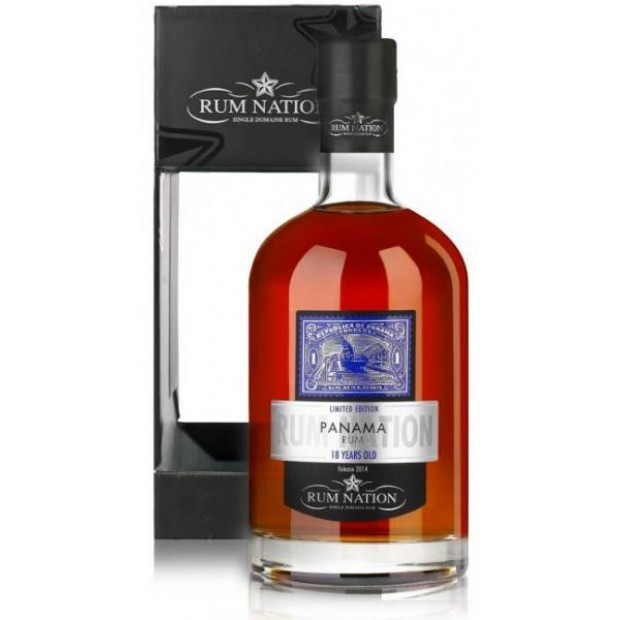 Rum Nation Panama Rom 18 Years 40%