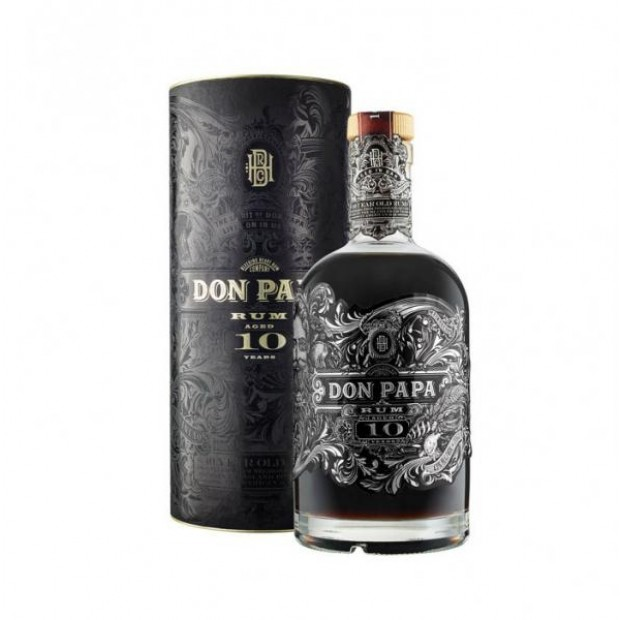 Don Papa 10 år Rum - Limited Edition, 43%