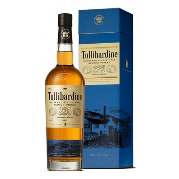 Tullibardine 225 Sauternes Finish 43% 70 cl. - Single Highland Malt