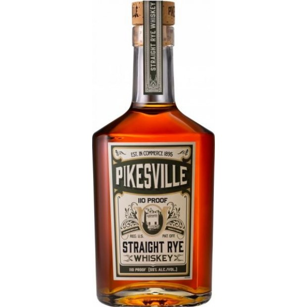Pikesville Straight Rye Whiskey 110 Proof, 55%