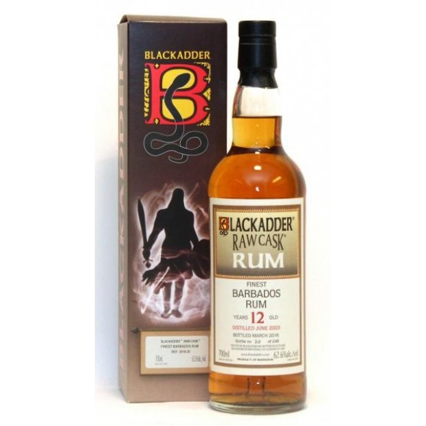 Blackadder Raw Cask Barbados 2003 12 år 62,6% 70 cl.