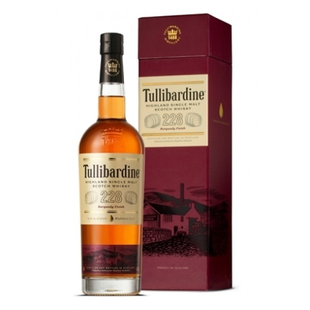 Tullibardine 228 Burgundy Finish 43% 70 cl. Single Highland Malt