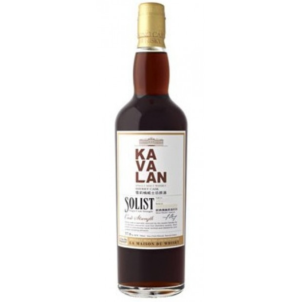 Kavalan Solist Sherry Single Cask Single Malt 58,6% 70 cl. - Taiwan