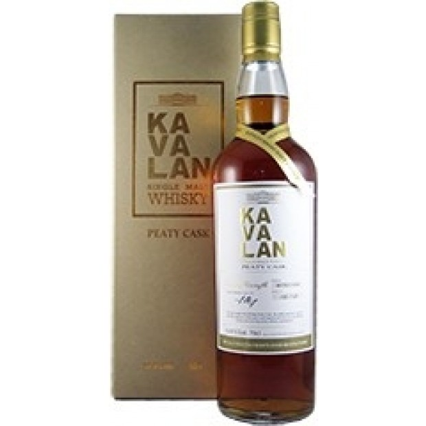 Kavalan Peaty Cask Single Malt 51,6% 70 cl. - Taiwan