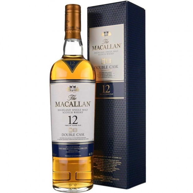 The Macallan 12 years Double Cask single malt whisky 40%