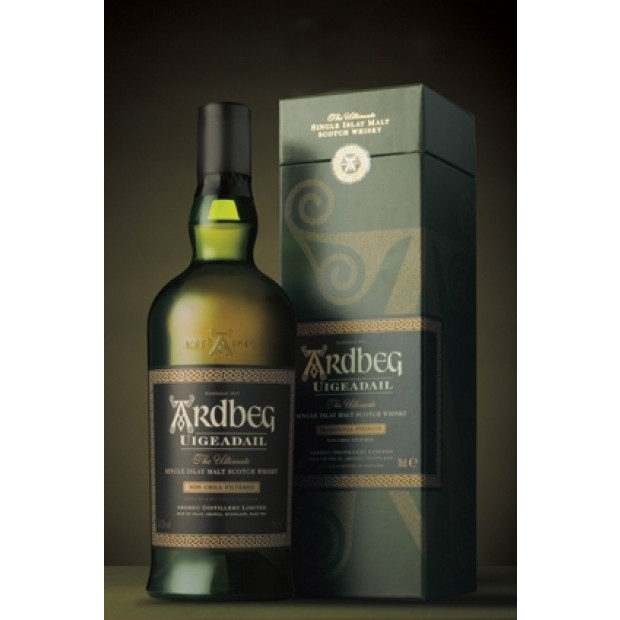 Ardbeg Uigeadail, 54,2% 70 cl.- Single Islay Malt