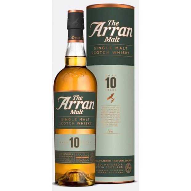 The Arran Malt, 10 år 46% 70 cl. - Single Island Malt