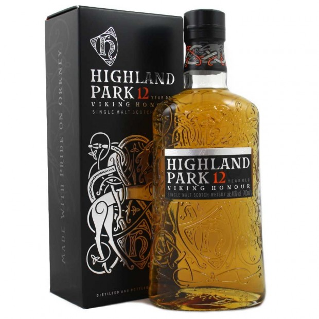 "Highland Park 12 år ""Viking Honour"" 40% 70 cl."