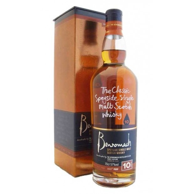 Benromach 10 år. 43% 70 cl. - Single Speyside Malt