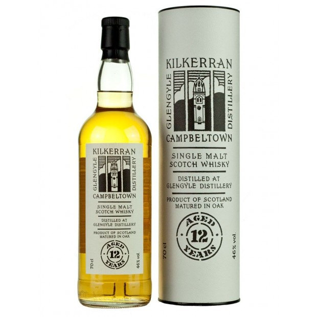 Kilkerran 12 års Campbeltown Single Malt 46% 70 cl.
