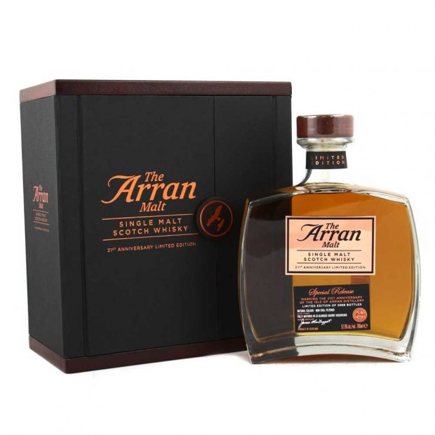 The Arran Malt 21st Anniversary Special Release 52,6% 70 cl.