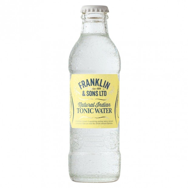 Franklin & Sons Natural Indian Tonic water, 20 cl.