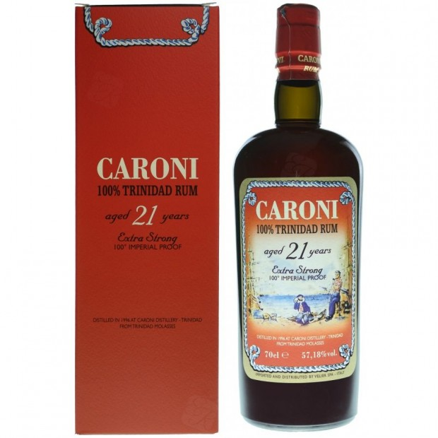 Velier Caroni 21 år 100 Proof 57,18% 70 cl.