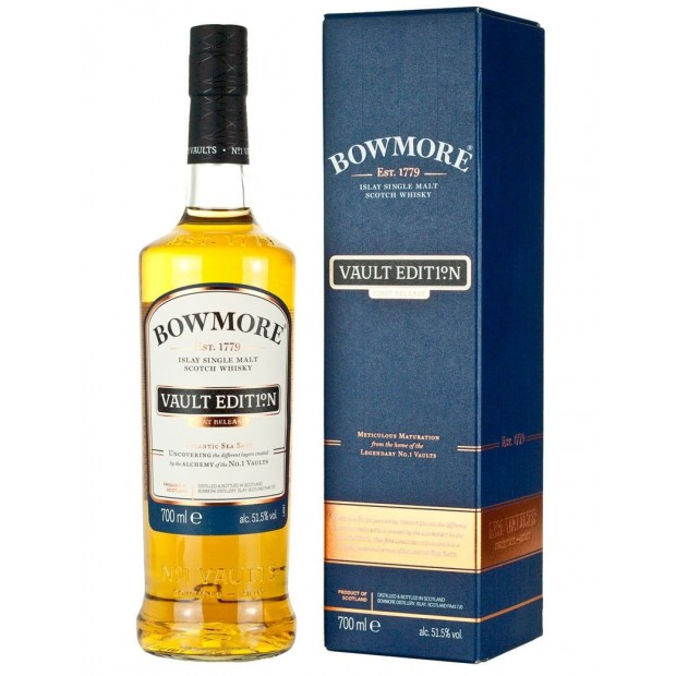Bowmore Vault Edition No. 1 First Release 51,5% 70 cl.