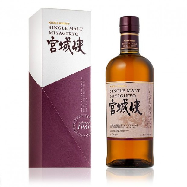 Nikka Miyagikyo Single Malt, 45%. Japan