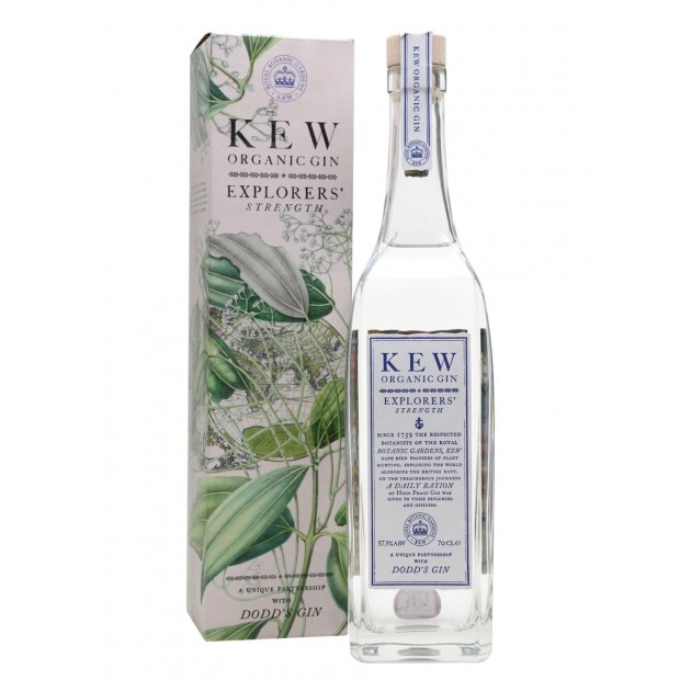 KEW Organic Gin Explorers' Strength 57,3%