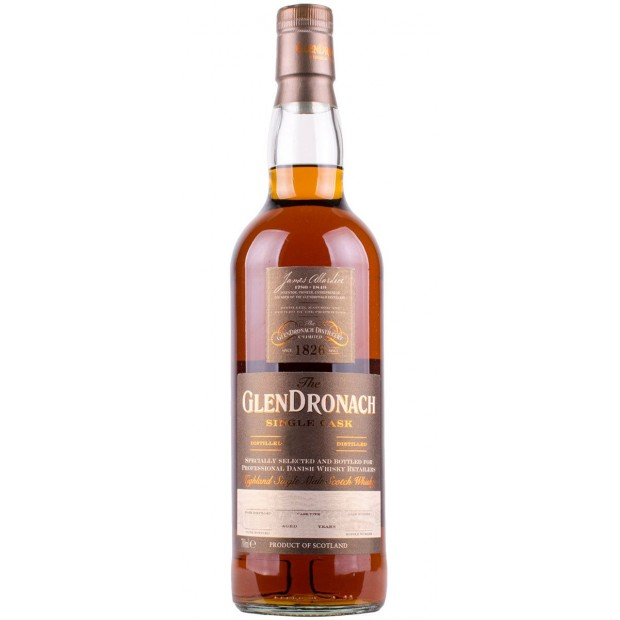 Glendronach Single Cask 1993 24 år Cask no. 394 51,78%