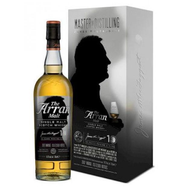 The Arran Malt James MacTaggart 10 års jubileum 54,2 % 70 cl.