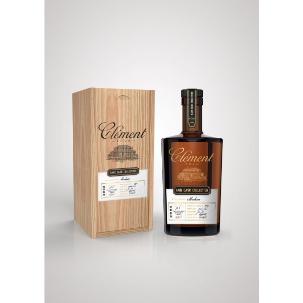 Clement Rare Cask Collection ABRAHAM 15 år. 56,58 %