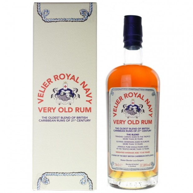 Velier Royal Navy Very Old Rum 57,18% 70 cl.