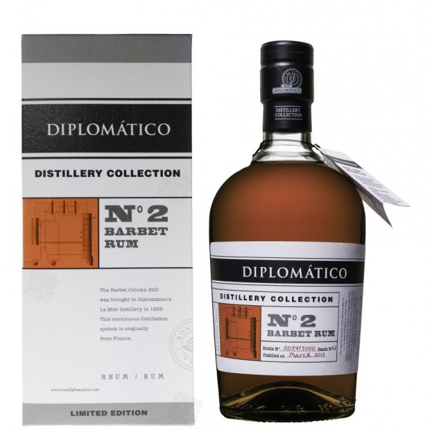 Diplomatico Destillery Collection No. 2 Barbet Rum, 47%