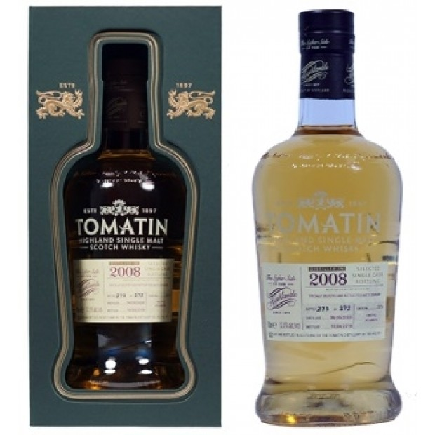 Tomatin Whisky 2008 First Fill Bourbon 52,5%
