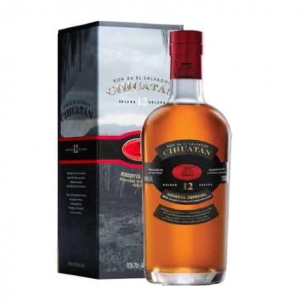 Cihuatan Reserva Especial 12 years old 40% 70 cl.