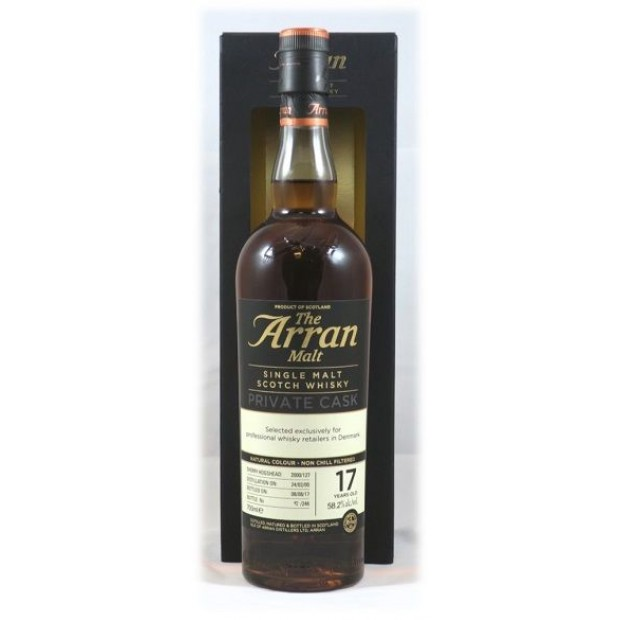 The Arran Malt Private Cask 127, 17 years. 58,2%, 70 cl.
