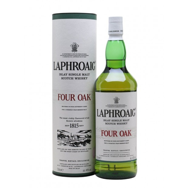 Laphroaig Four Oak 40% 100 cl.