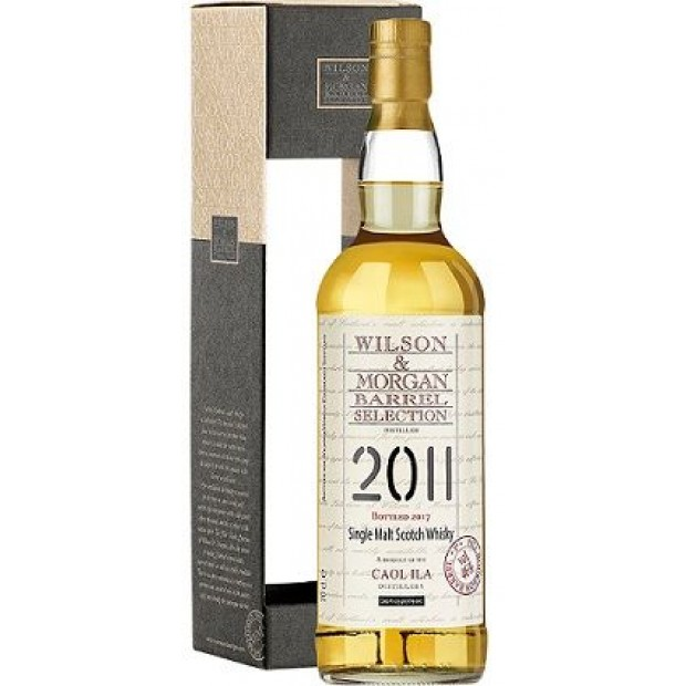 Caol Ila 2011 Whisky 1st fill bourbon barrel, Wilson & Morgan. 46%