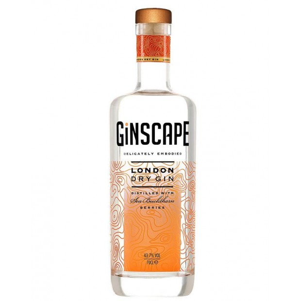 Ginscape London Dry Gin 70 cl 43,7%