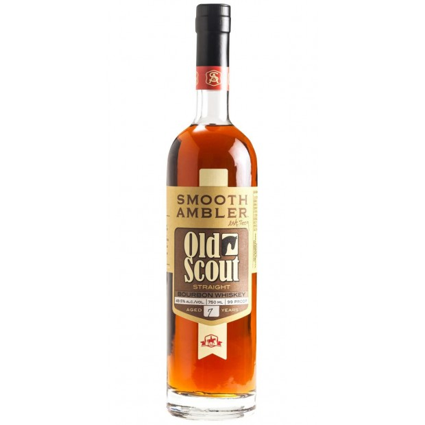 Smooth Ambler Old Scout Straight Bourbon 7 Years Old 49,5% 70 cl.