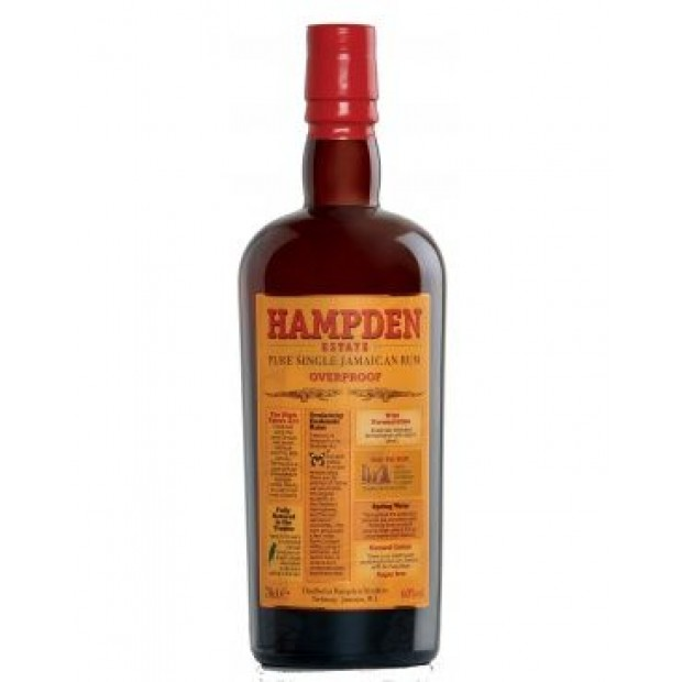 Hampden Estate 7 år. LM&V. Overproof 60%, 70 cl.