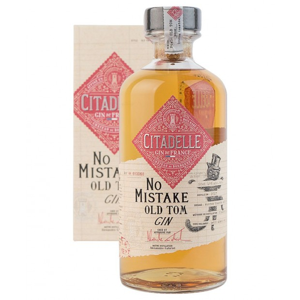 Citadelle Extreme No Mistake Old Tom Gin 46% 50 cl.