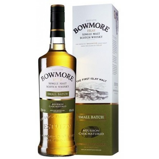Bowmore Small Batch Islay Whisky. 40%, 70 cl.