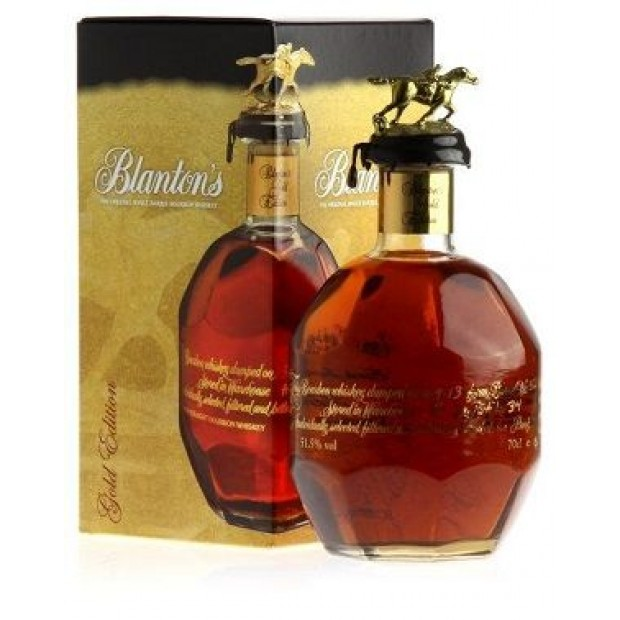 Blanton's Gold Edition Bourbon. 51,5%, 70 cl.