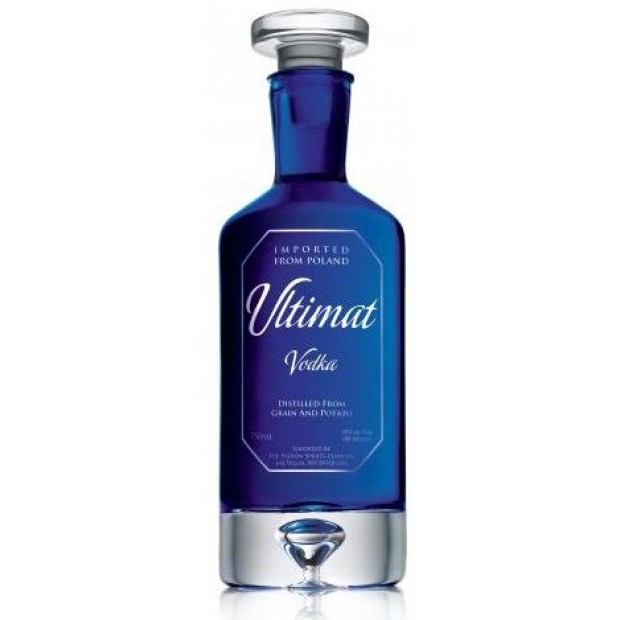 Ultimat Vodka Blue. 40%, 70 cl.