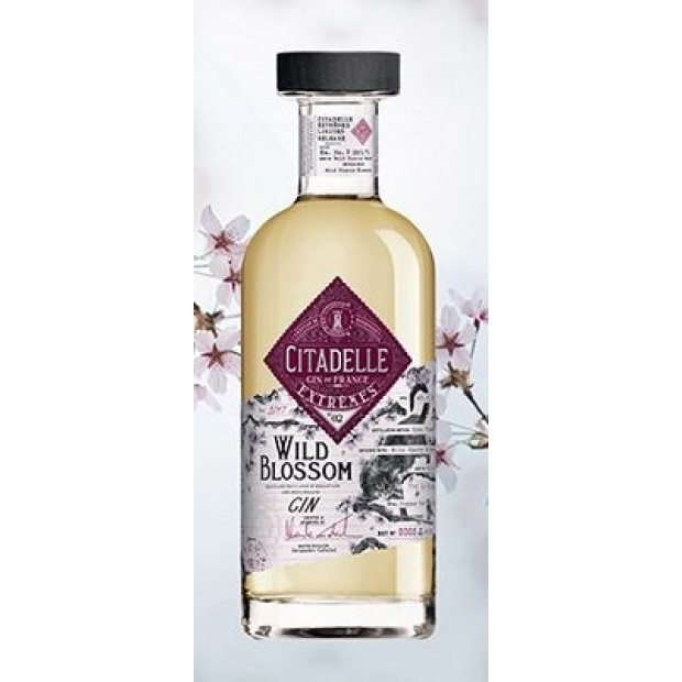 Citadelle Extremes No. 2 Wild Blossom Gin. 42,6%, 70 cl.