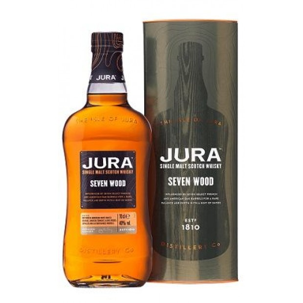 Jura Seven Wood Single Malt Whisky. 42%