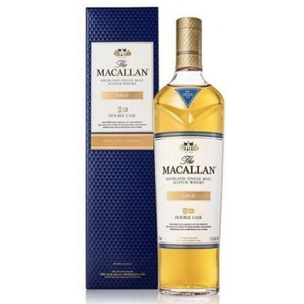 The MacAllan Whisky Double Cask Gold. 40%