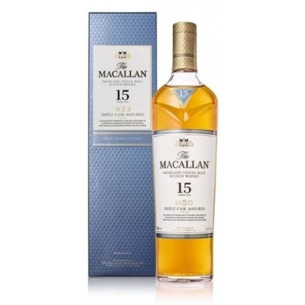 The MacAllan Whisky 15 år Triple Cask. 43%