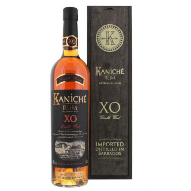Kaniché XO Double Wood Barbados rum. 40%, 70 cl. - Rom fra Barbados