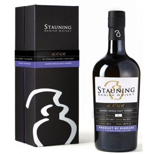 Stauning Heather May 2019 Danish Single Malt. 48,7%