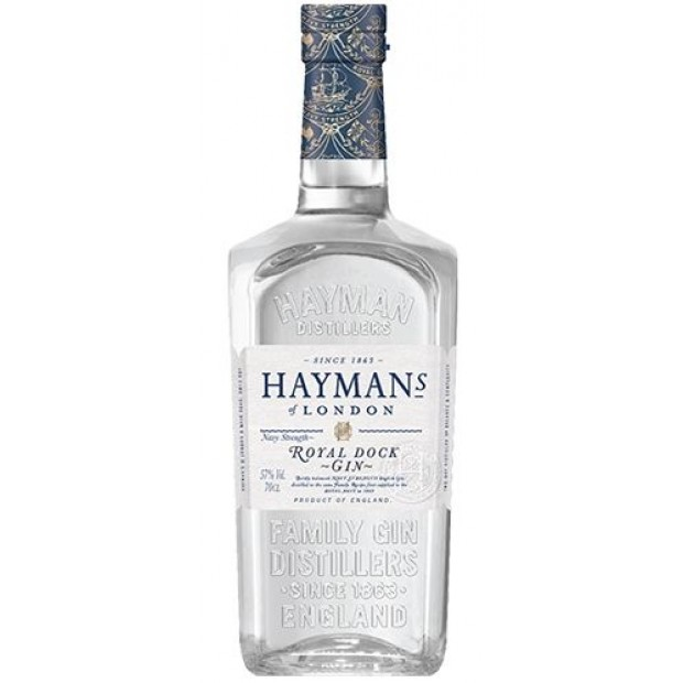Hayman's Royal Dock Navy Strength Gin, 57%