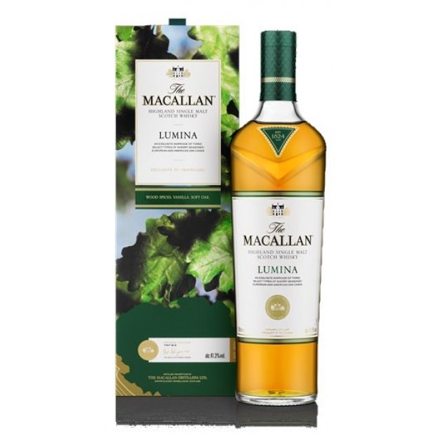 MacAllan Lumina Speyside Single Malt Whisky. 41,3%, 70 cl.