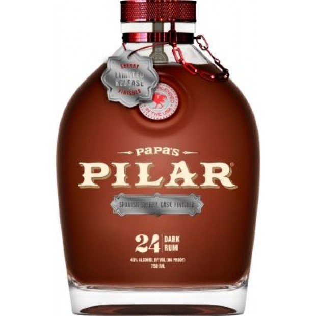 Papa's Pilar Rum, Sherry Finish, Limited Edition. 43%, 70 cl.