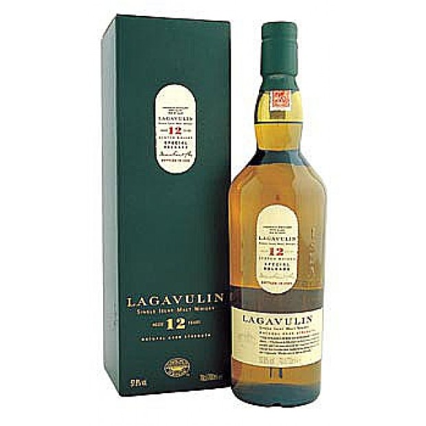Lagavulin 12 år 2014 Edition Cask Strength 54,4%. 70 cl.