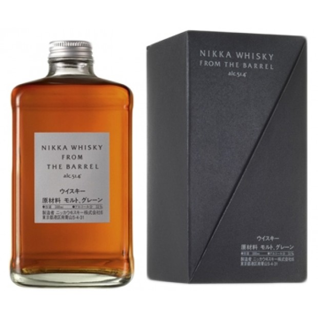 Nikka from the Barrel, 51,4% 50cl. - Whisky fra Japan