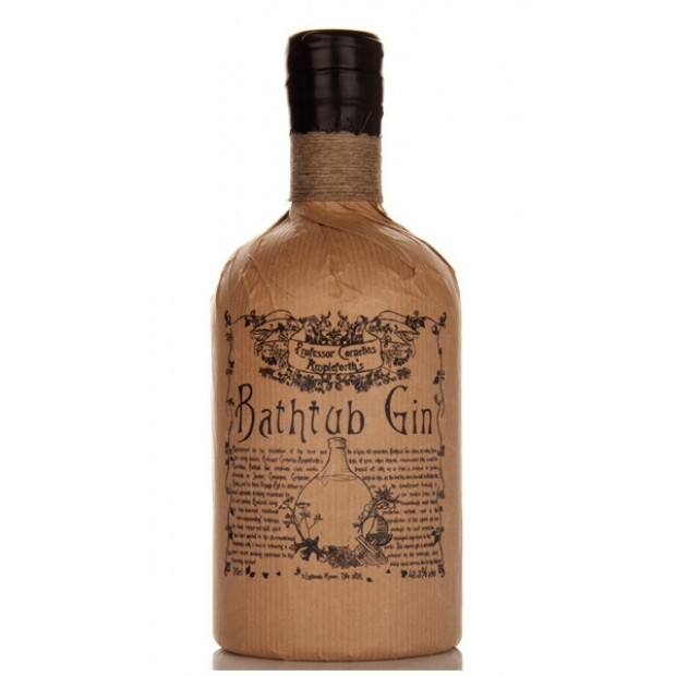 Professor Cornelius Ampleforths Bathtub Gin 43.4% 70 cl.