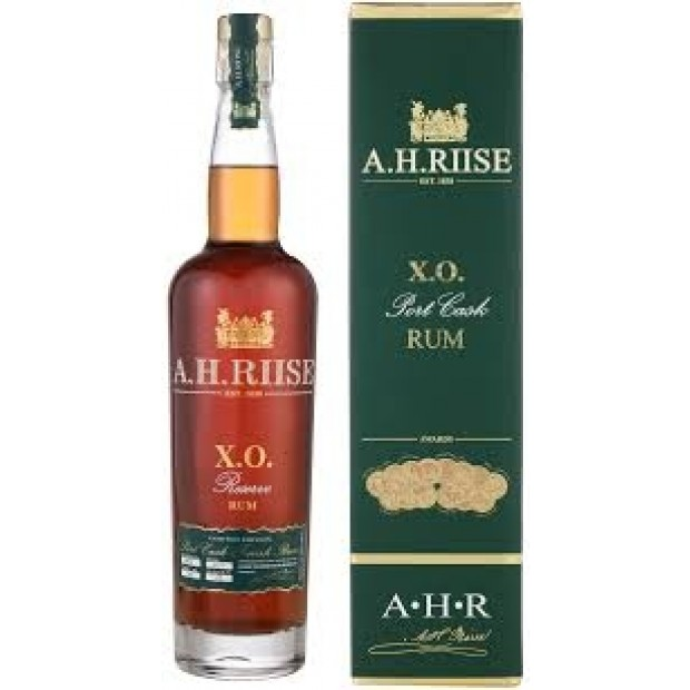 A.H. Riise XO Port Cask Finish Rum 45%